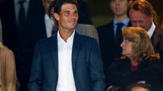 Rafa Nadal, en el palco del Santiago Bernabéu / Gtres