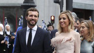 Pablo Casado y su mujer, Isabel Torres, en los Premios Princesa de Asturias / Gtres