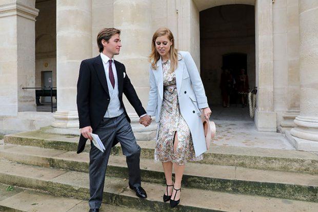 Boda imperial en Francia: el descendiente de Napoleón se casa con la condesa Olympia
