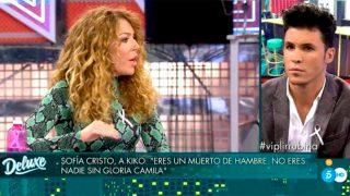 Kiko Jiménez y Sofía Cristo han tenido una dura discusión en pleno directo / Mediaset