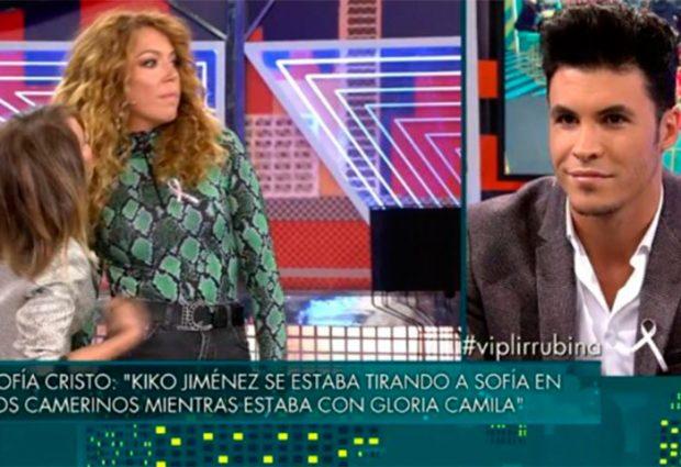 La descomunal bronca entre Kiko Jiménez y Sofía Cristo: «Eres un muerto de hambre»