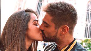 Fabio y Violeta se besan en Instagram / @violeta_mangrinyan