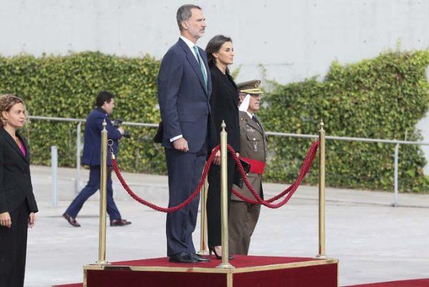 rey Felipe. reina Letizia