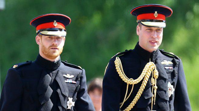 El príncipe Harry y su hermano Guillermo /