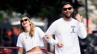Jennifer Lawrence y Cooke Maroney caminando en Nueva York / Gtres