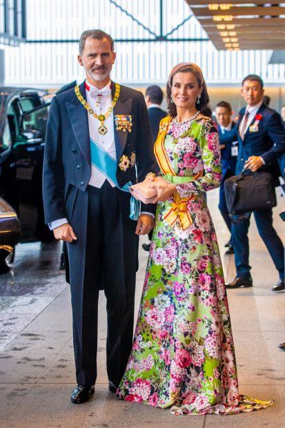 EXCLUSIVA: Hablamos con la persona que está detrás del primer look de la reina Letizia en Japón