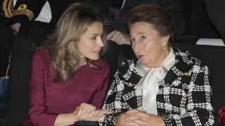 Doña Letizia y Margarita de Borbón en el año 2011. / Gtres