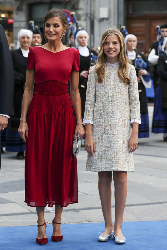 Letizia en los Princesa de Asturias de 2019 / GTRES
