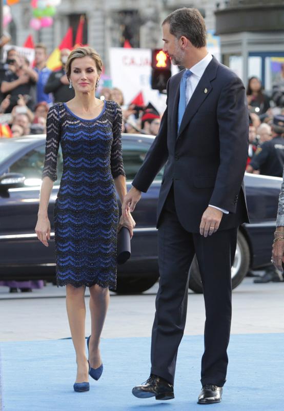 Letizia en los Princesa de Asturias de 2014 / GTRES