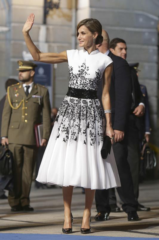 Letizia en los Princesa de Asturias de 2017 / GTRES
