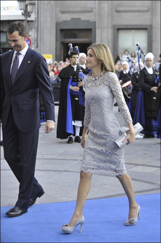 Letizia en los Princesa de Asturias de 2008 / GTRES