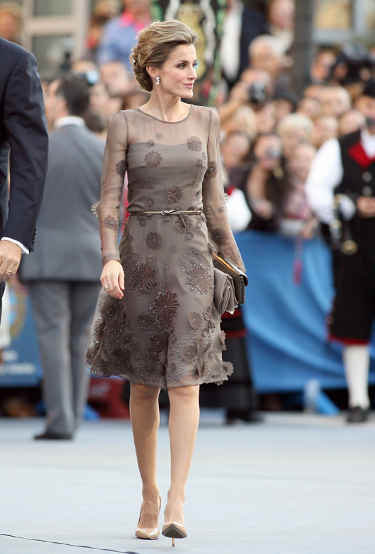 Letizia en los Princesa de Asturias de 2011 / GTRES