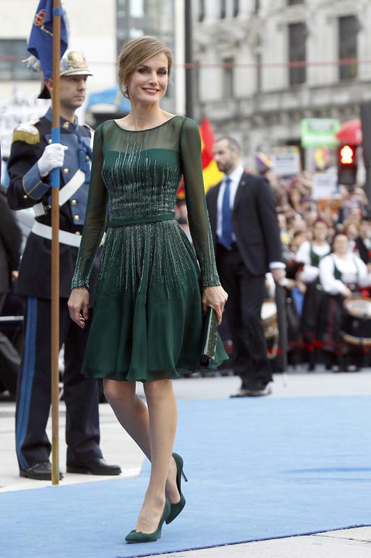 Letizia en los Princesa de Asturias de 2013 / GTRES