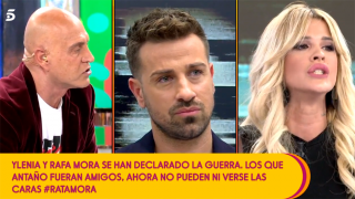 Kiko Matamoros, Rafa Mora e Ylenia Padilla/ Mediaset