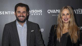 Carola Baleztena y Emiliano Suárez acudieron a los Premios Interiores de decoración . / Gtres