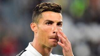 Cristiano Ronaldo en un partido de fútbol / Gtres