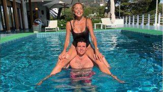 Ana Obregón disfrutando este verano junto a su hijo Álex Lequio/Instagram