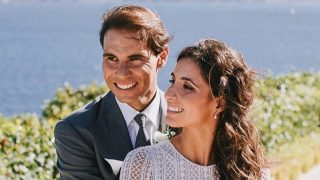 Rafa Nadal y Xisca Perelló el día de su boda / Instagram