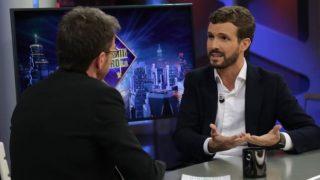 Pablo Casado en el programa de Pablo Motos de Antena 3. / Atresmedia