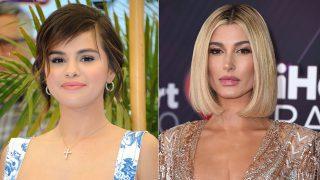 A la izquierda, Selena Gomez. A la derecha, Hailey Baldwin / Gtres
