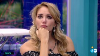 Alba Carrillo, al borde de un ataque de nervios./Mediaset