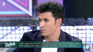 Kiko Jiménez durante su paso por 'Sábado Deluxe' / Telecinco