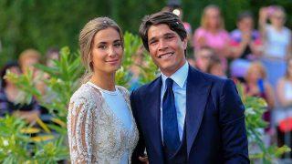 María Pombo y Pablo Castellano el día de su boda / GTRES