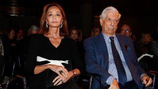 Isabel Preysler y Mario Vargas Llosa en la presentación a los lectores de 'Tiempos recios' / Gtres