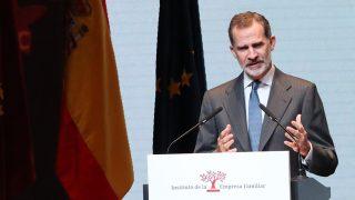 Don Felipe durante un acto en Murcia / Casa Real