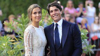 Maria Pombo y Pablo Castellano el día de su boda /Gtres