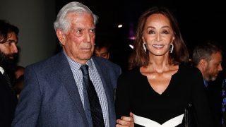 Mario Vargas LLosa junto a Isabel Preysler/Gtres