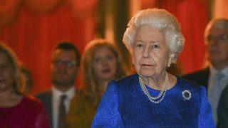 La reina Isabel en un acto reciente / Gtres
