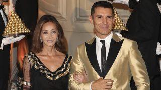 Isabel Preysler y Jesús Vázquez durante el 30 aniversario de Ferrero Rocher /Gtres