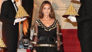 Isabel Preysler en la celebración del 30 aniversario de la llegada de Ferrero Rocher a nuestro país / Gtres