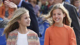 La princesa de Asturias y su hermana la infanta en una imagen reciente / Gtres