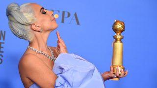 Lady Gaga, en los Globos de Oro 2019 / Gtres