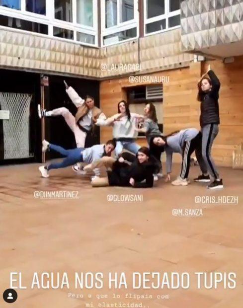 Blanca Suárez con amigos