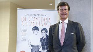 Cayetano Martínez de Irujo en un momento de la presentación / Gtres