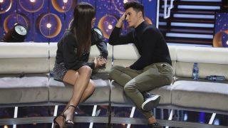 Kiko y Sofía durante el último debate de Gran Hermano Vip / Gtres