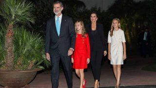 La Familia Real llega al Palacio de Congresos de Barcelona/Gtres