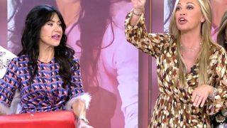 La monumental bronca de Belén Esteban a Maite Galdeano en su debut como presentadora de Sálvame / Mediaset