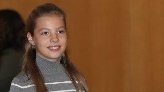 La infanta Sofía durante el cierre de los actos de la Fundación / Gtres