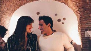 Hugo y Adara Molinero cuando estaban enamorados /Instagram