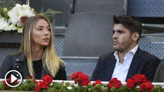 Álvaro Morata y Alice Campello en una imagen de archivo /Gtres