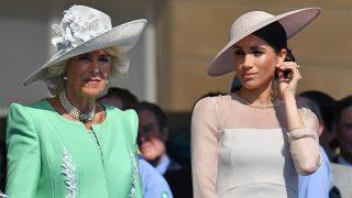 Camilla Parker y Meghan Markle en el 70 cumpleaños del príncipe Carlos / Gtres