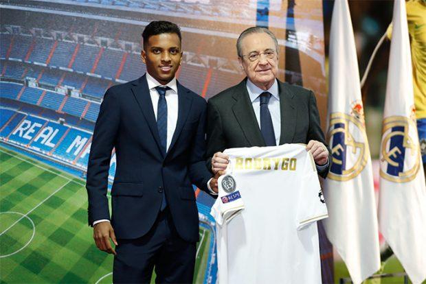 Rodrygo Goes, así fue la dura infancia de la nueva estrella del Real Madrid