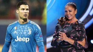 Isabel Pantoja y Cristiano Ronaldo en una imagen de archivo /Gtres
