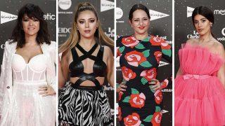 Vanessa Martín, Ana Mena, Yolanda Ramos y Dulceida en LOS40 Music Awards / Gtres
