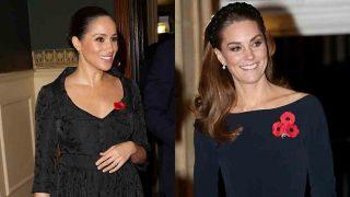 Meghan Markle y Kate Middleton a su llegada al Royal Albert Hall / GTRES