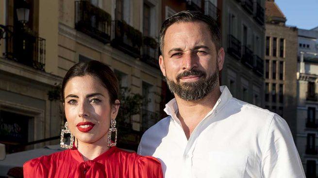 Santiago Abascal y Lidia Bedman